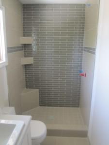 Grendfeld master bath. tiled shower / Skyrim Construction