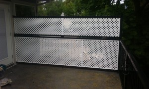 474 Cadder ave. Deck/ Skyrim Construction