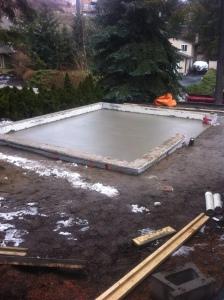 1055 Marathon court garage footing/foundation & slab / Skyrim Construction